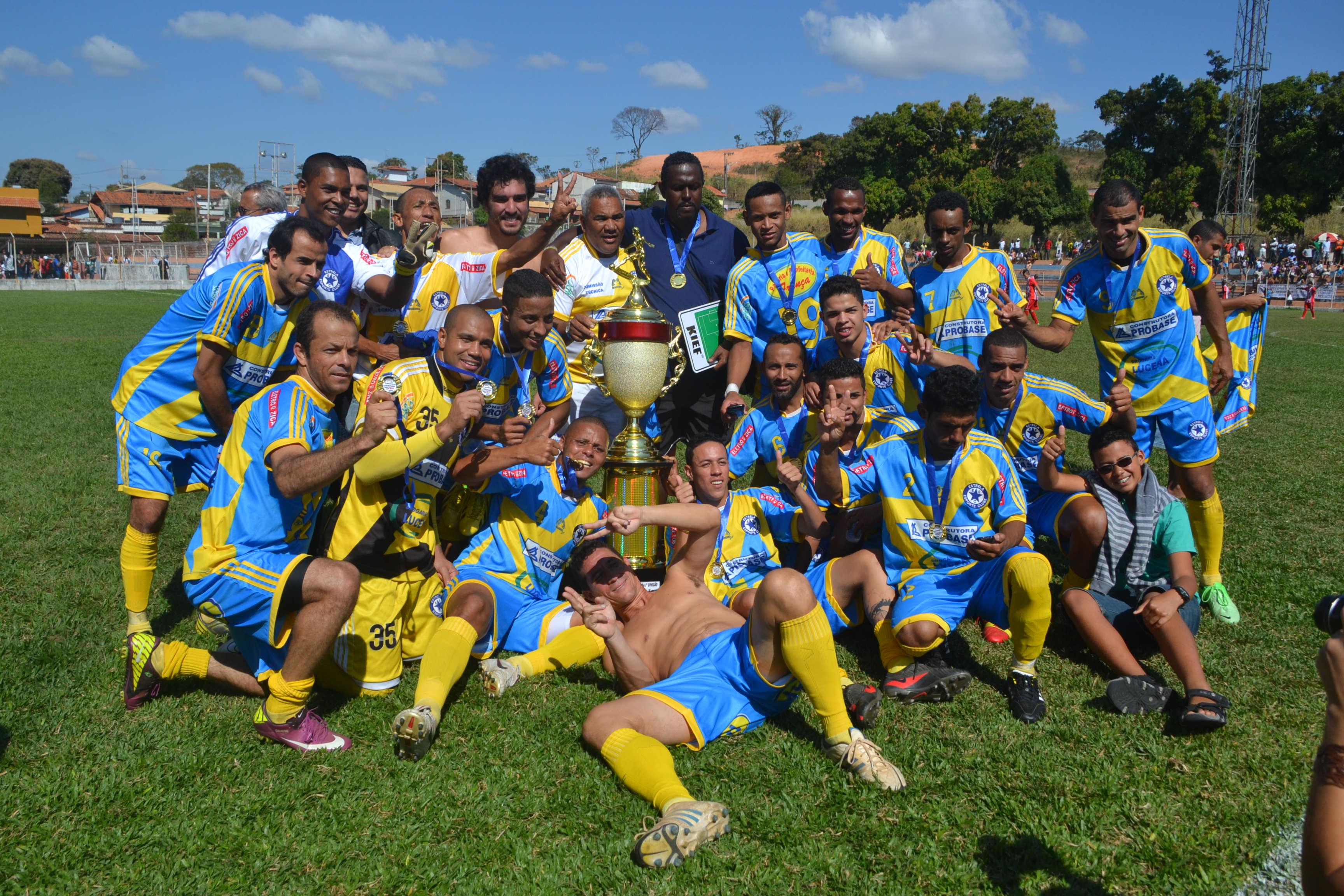 Mensagem  O Estrela Esporte Clube conquista o Bicampeonato Luziense  2012 2014 dfc6ab638fedd